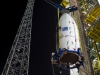 24.01.2012 - Upper composite transfer to launch pad