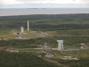 Vega and Ariane launch sites