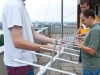 25.07.2012. - Working at the ground station antenna
